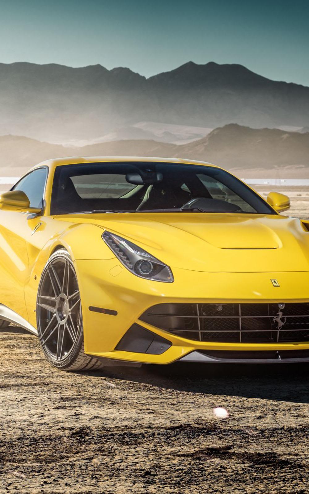 Download Yellow Ferrari F12 Free Pure 4k Ultra Hd Mobile Wallpaper