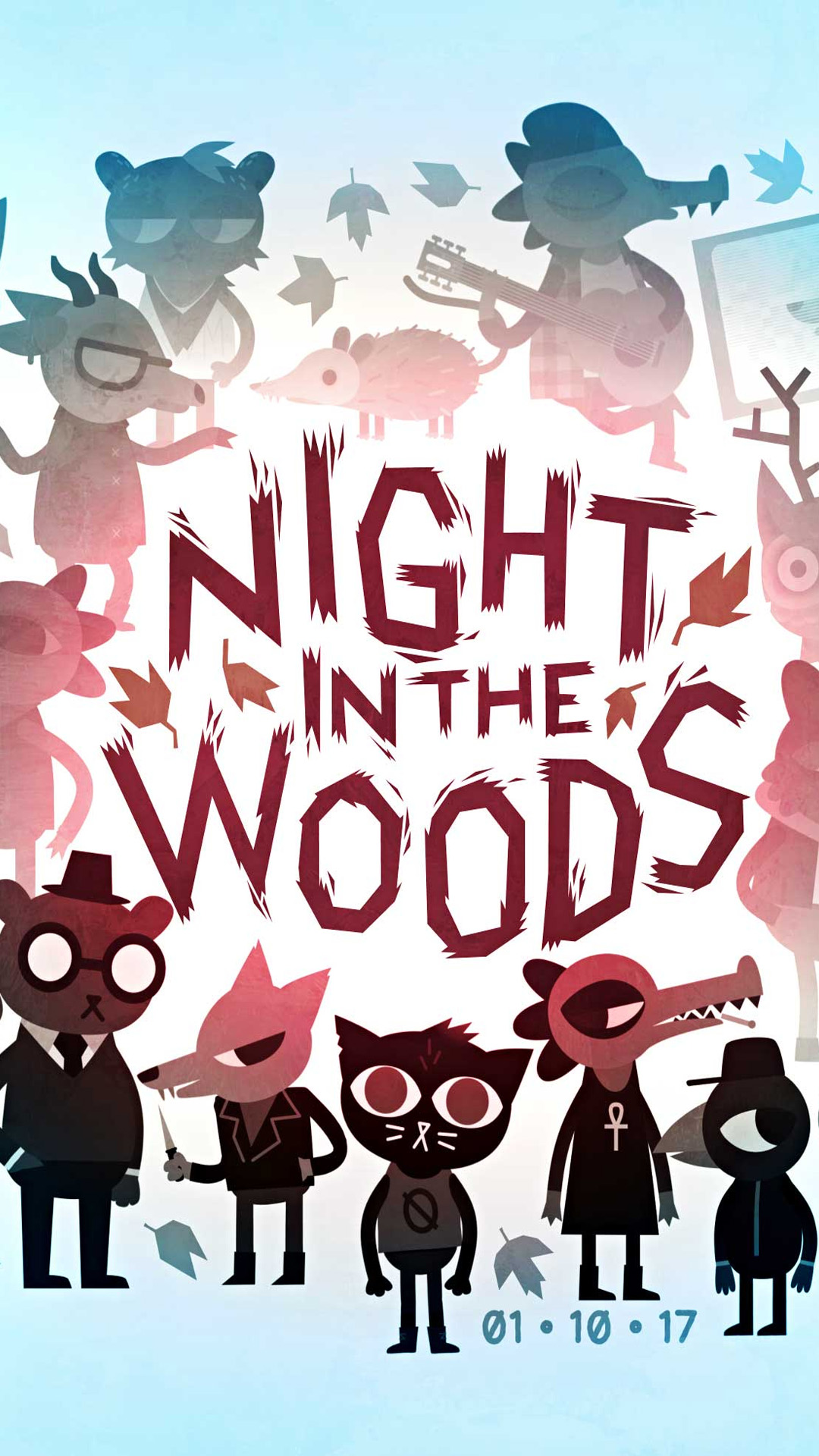 Night In The Woods Game Free 4k Ultra Hd Mobile Wallpaper