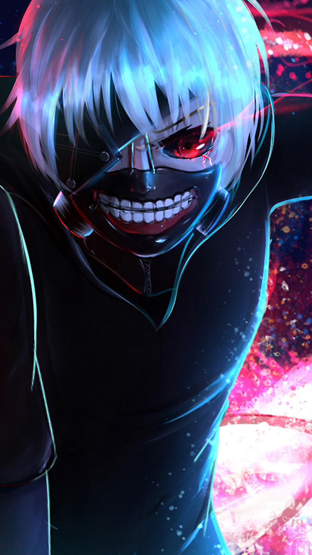 One Eye Tokyo Ghoul 4k Ultra Hd Mobile Wallpaper