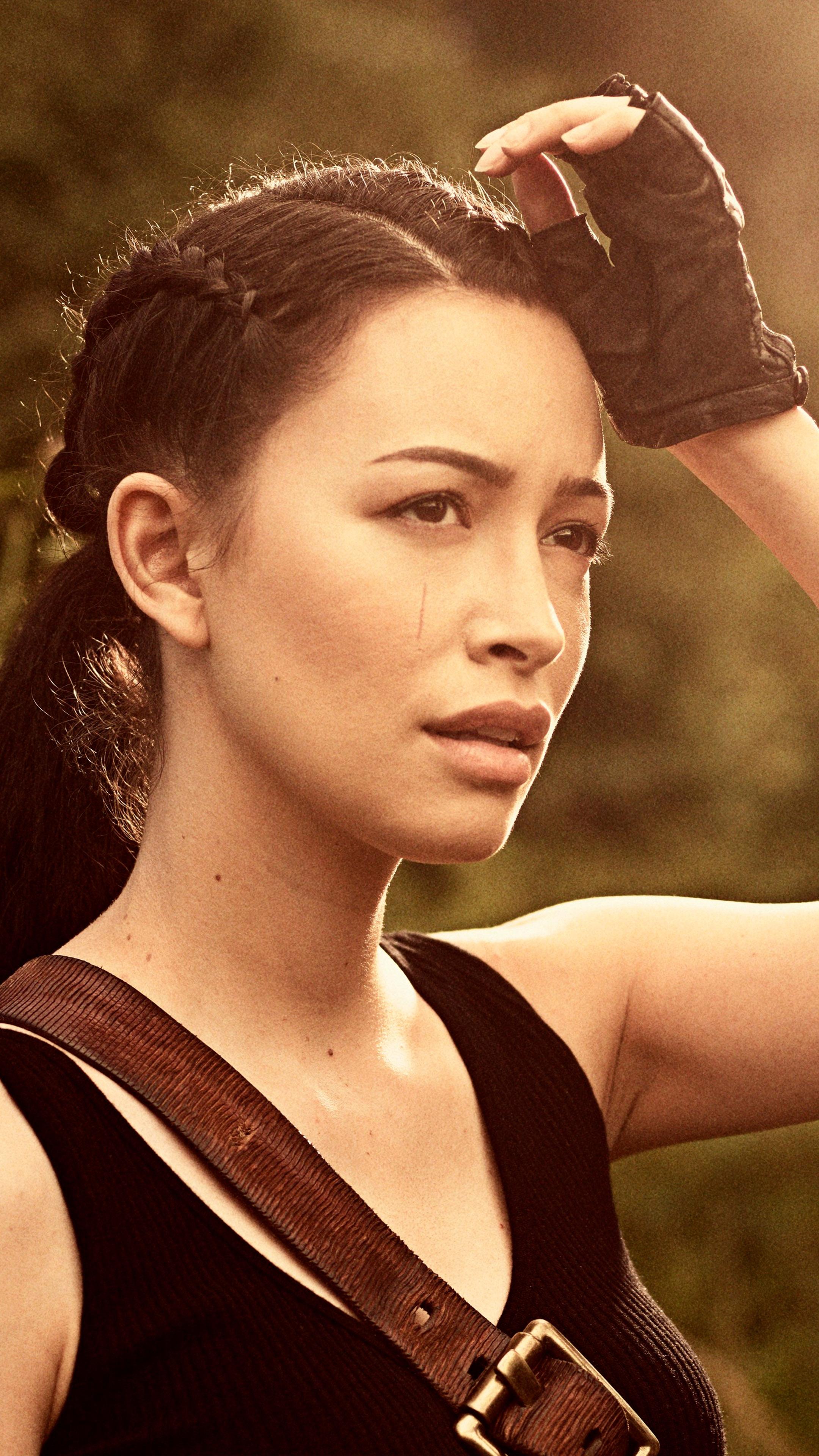 Rosita Espinosa In The Walking Dead Season 9 Free 4k Ultra Hd