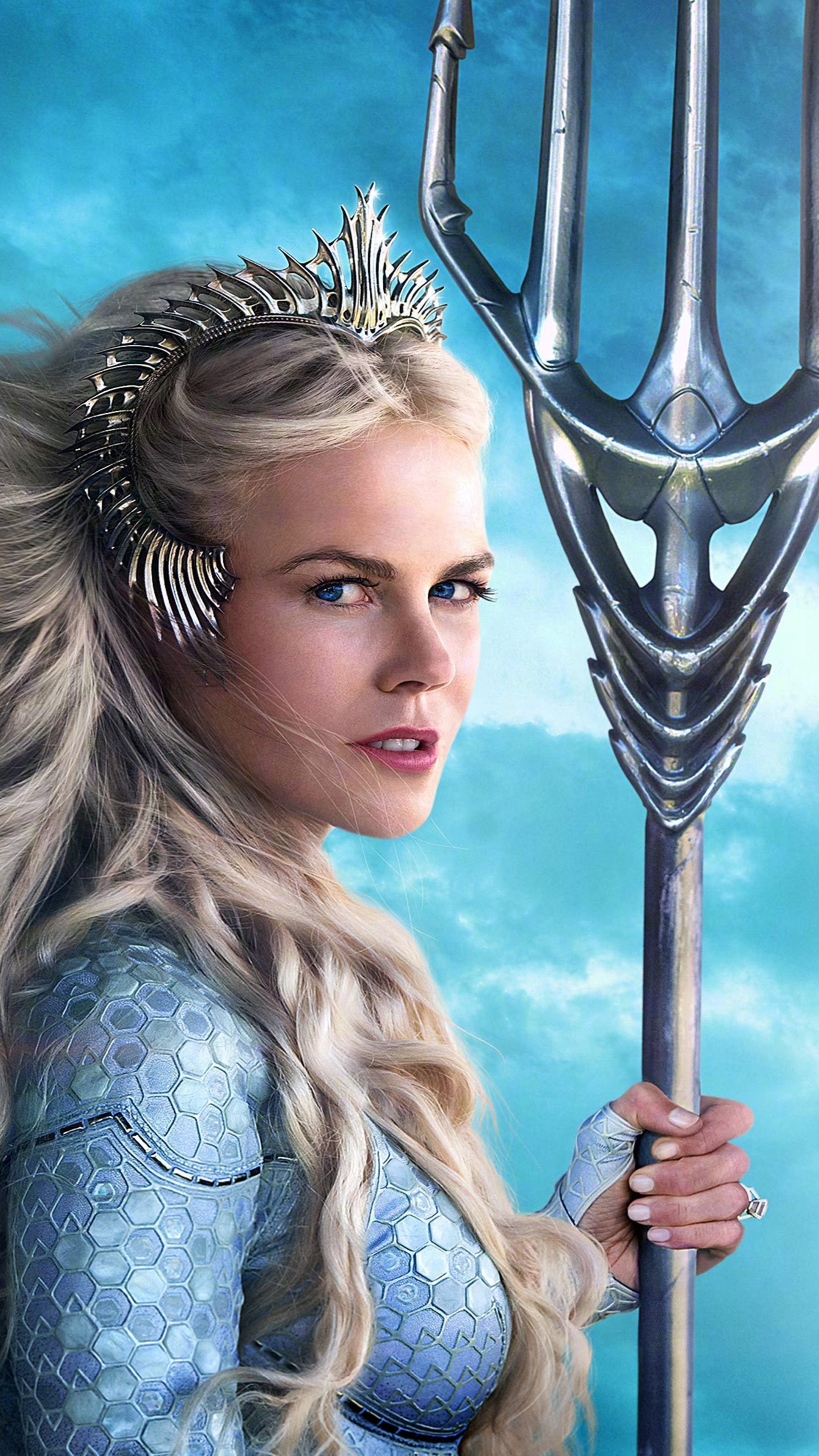 Download Nicole Kidman As Queen Atlanna In Aquaman 2018 Free Pure 4k