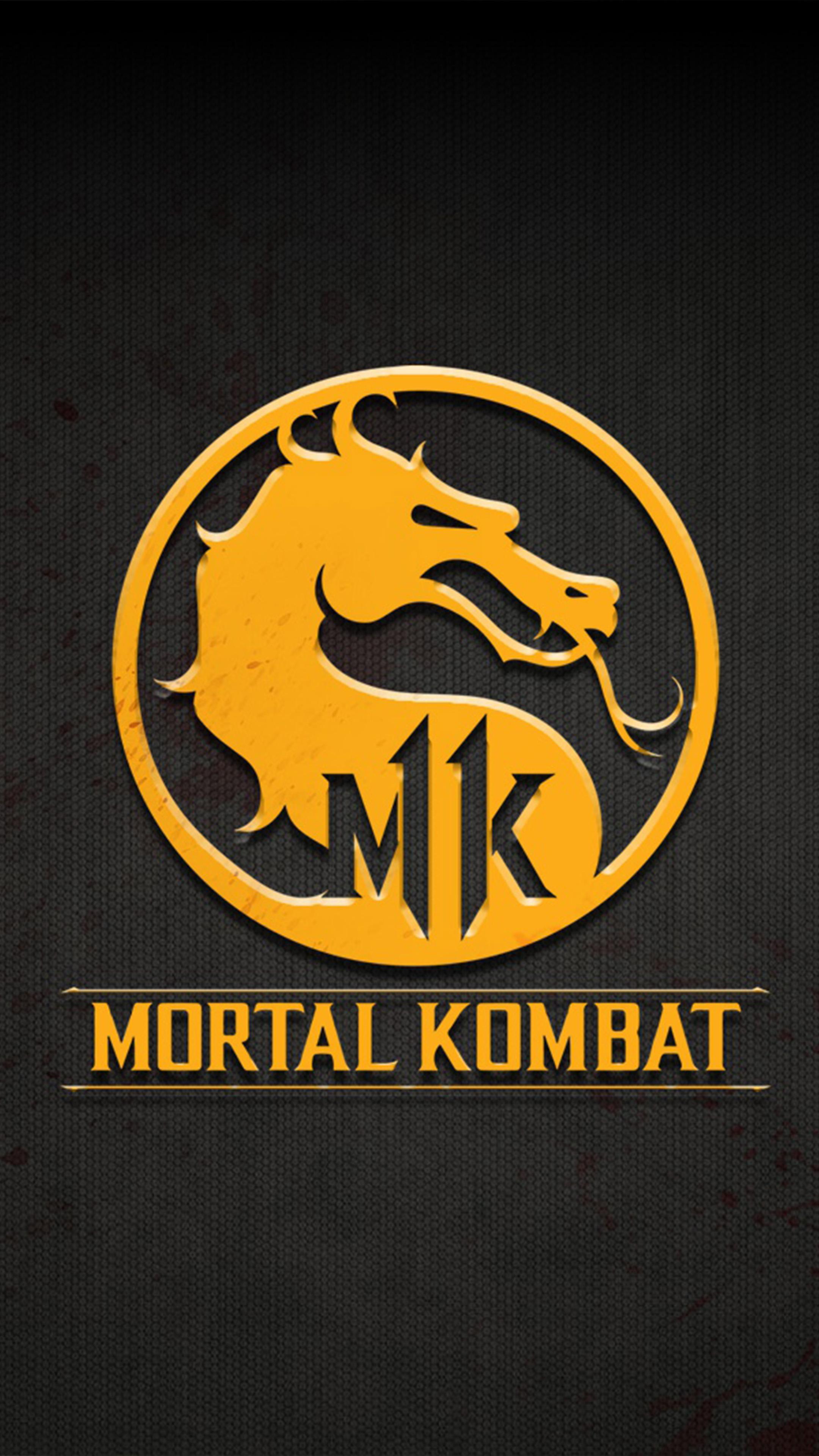 Mortal Kombat 11 Logo 4k Ultra Hd Mobile Wallpaper