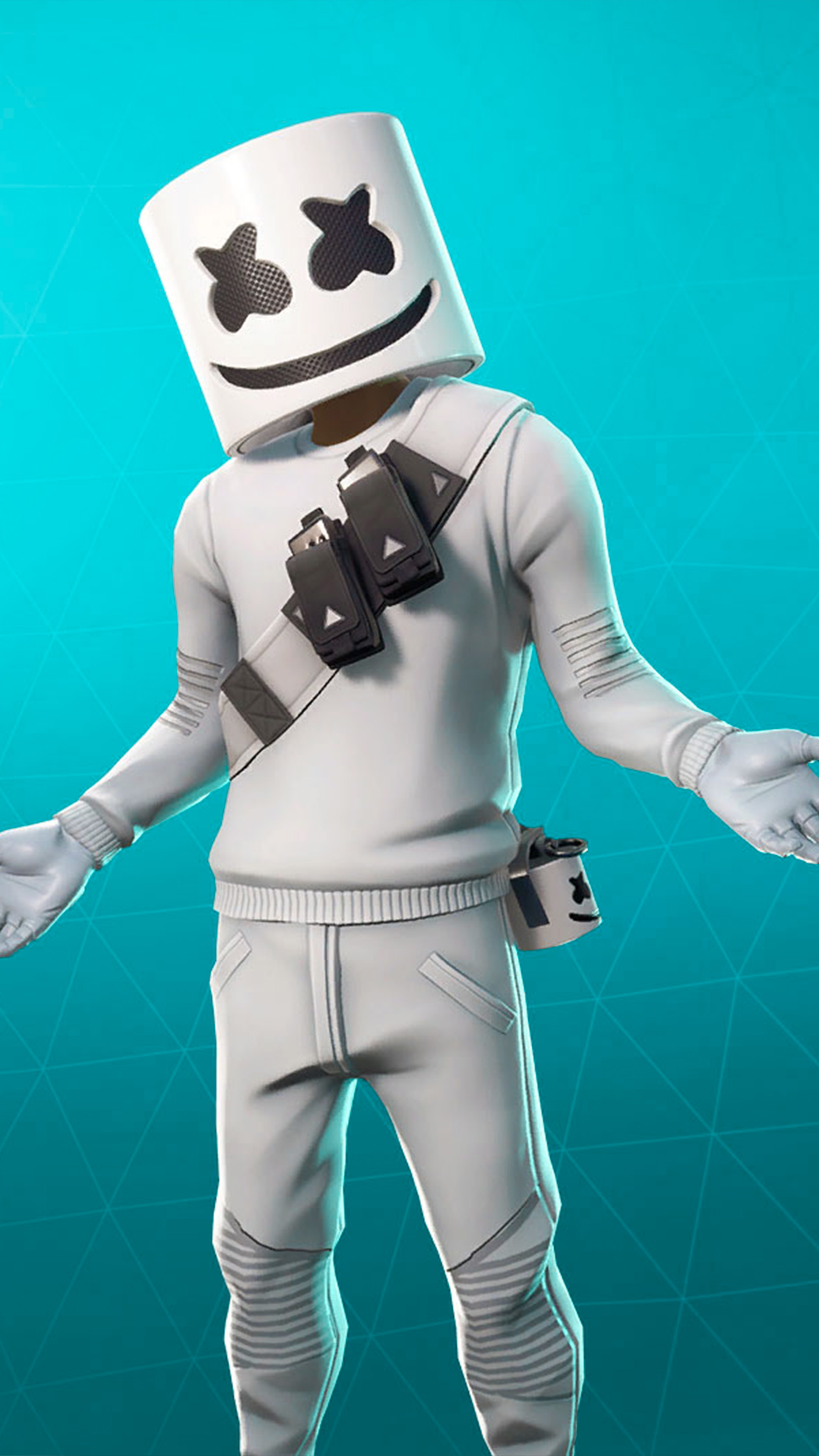 Marshmello Fortnite Skin 4k Ultra Hd Mobile Wallpaper