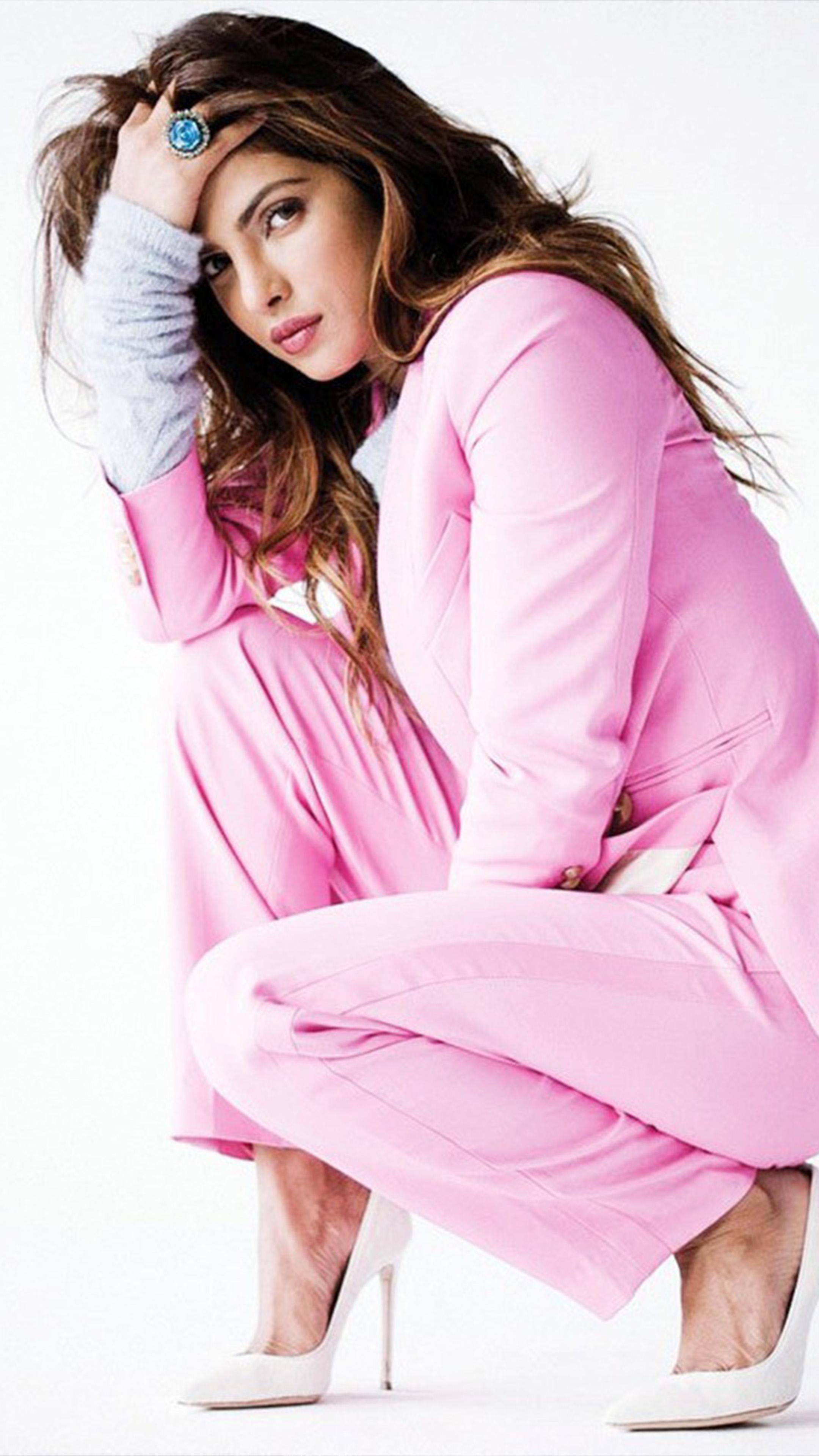 priyanka chopra in pink dress 4k ultra hd mobile wallpaper priyanka chopra in pink dress 4k ultra