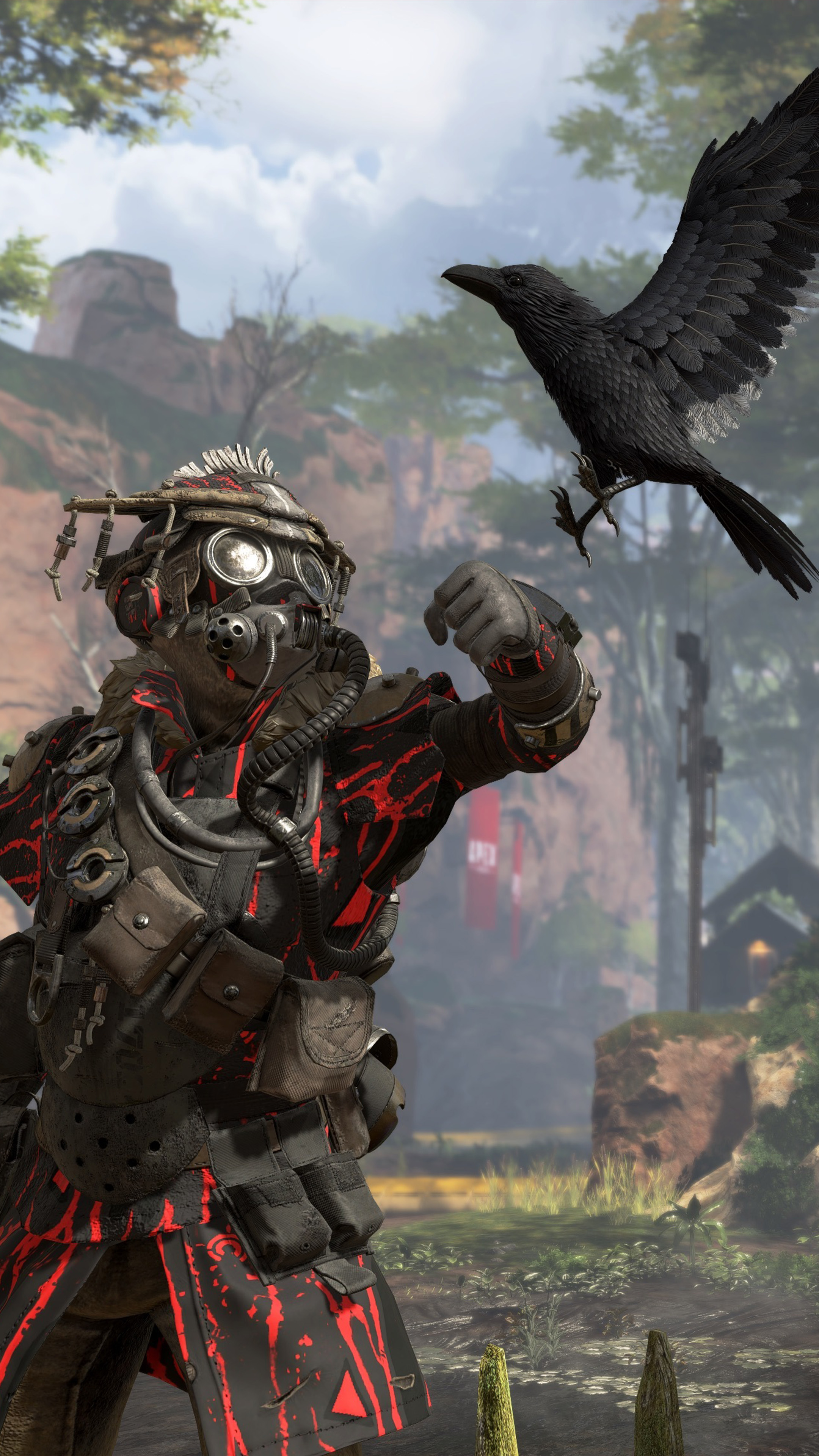 Bloodhound Apex Legends Gameplay Free 4k Ultra Hd Mobile Wallpaper