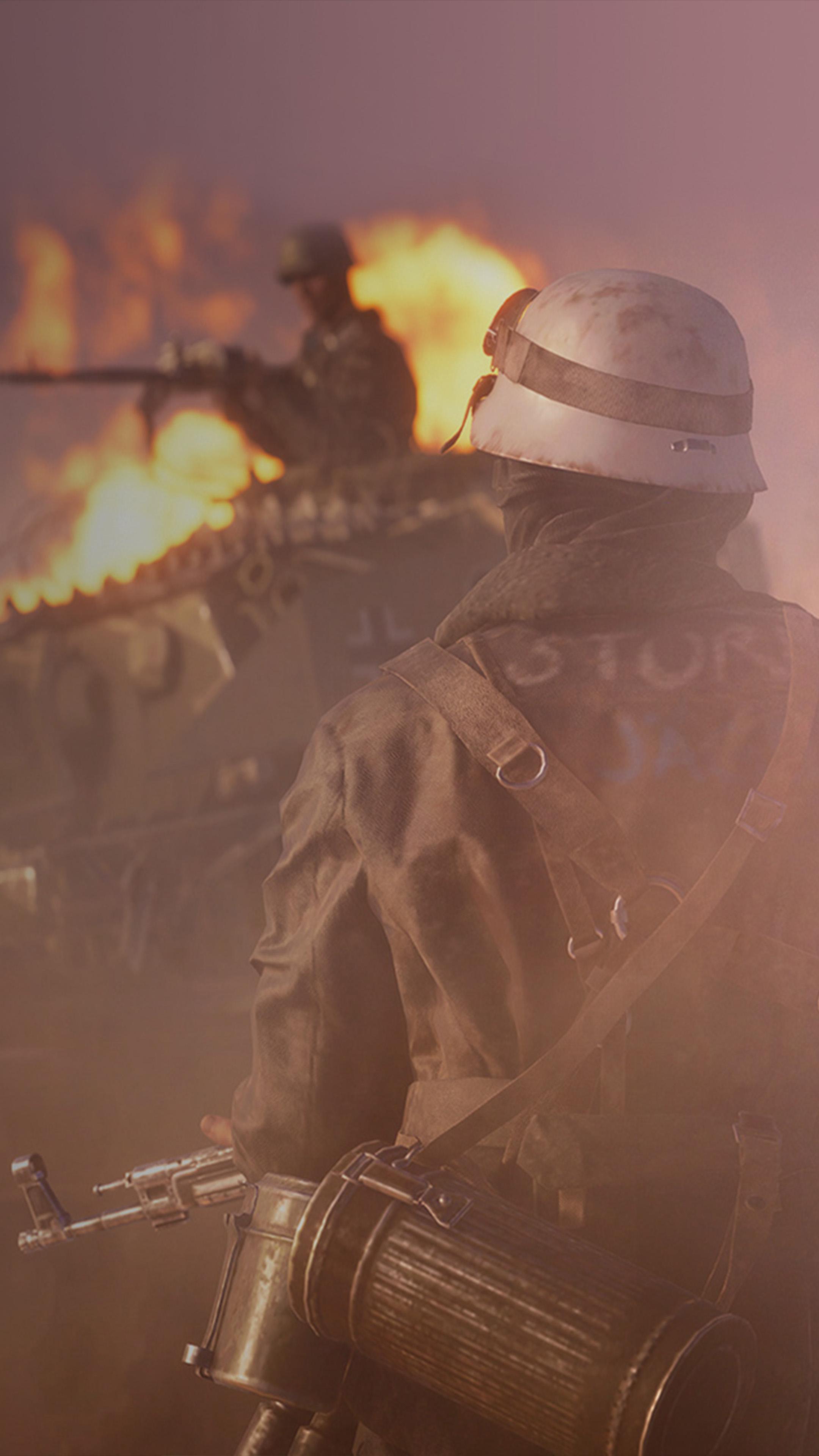 Battlefield V Firestorm 21K Ultra HD Mobile Wallpaper