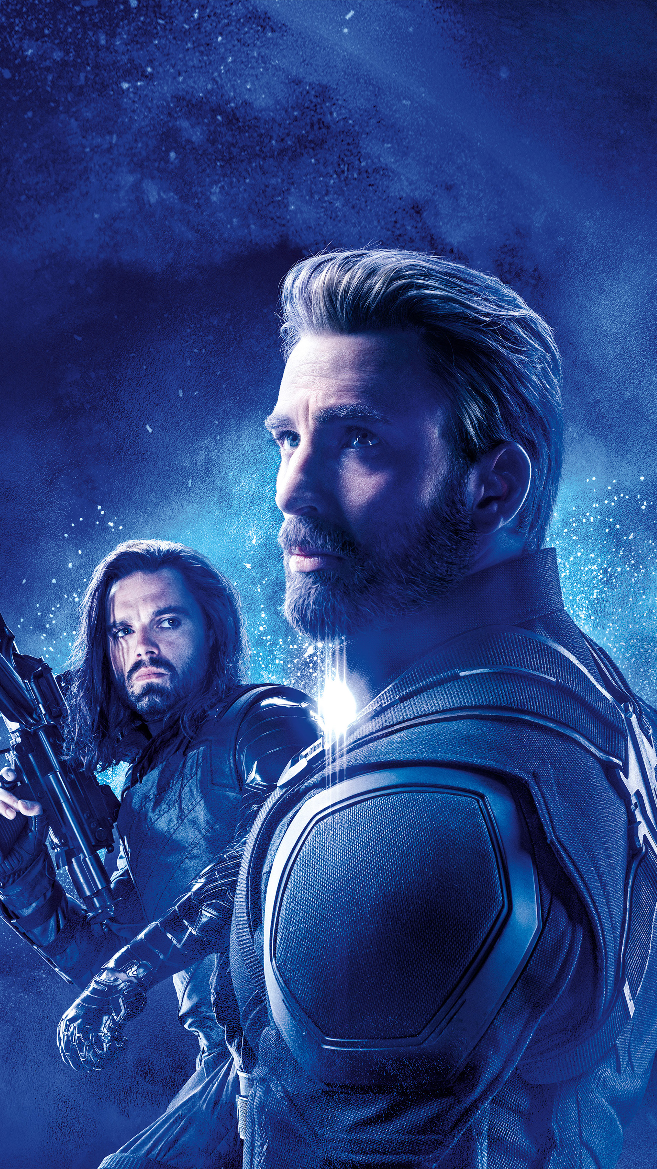 Captain America Bucky Barnes In Avengers Endgame Free 4k Ultra
