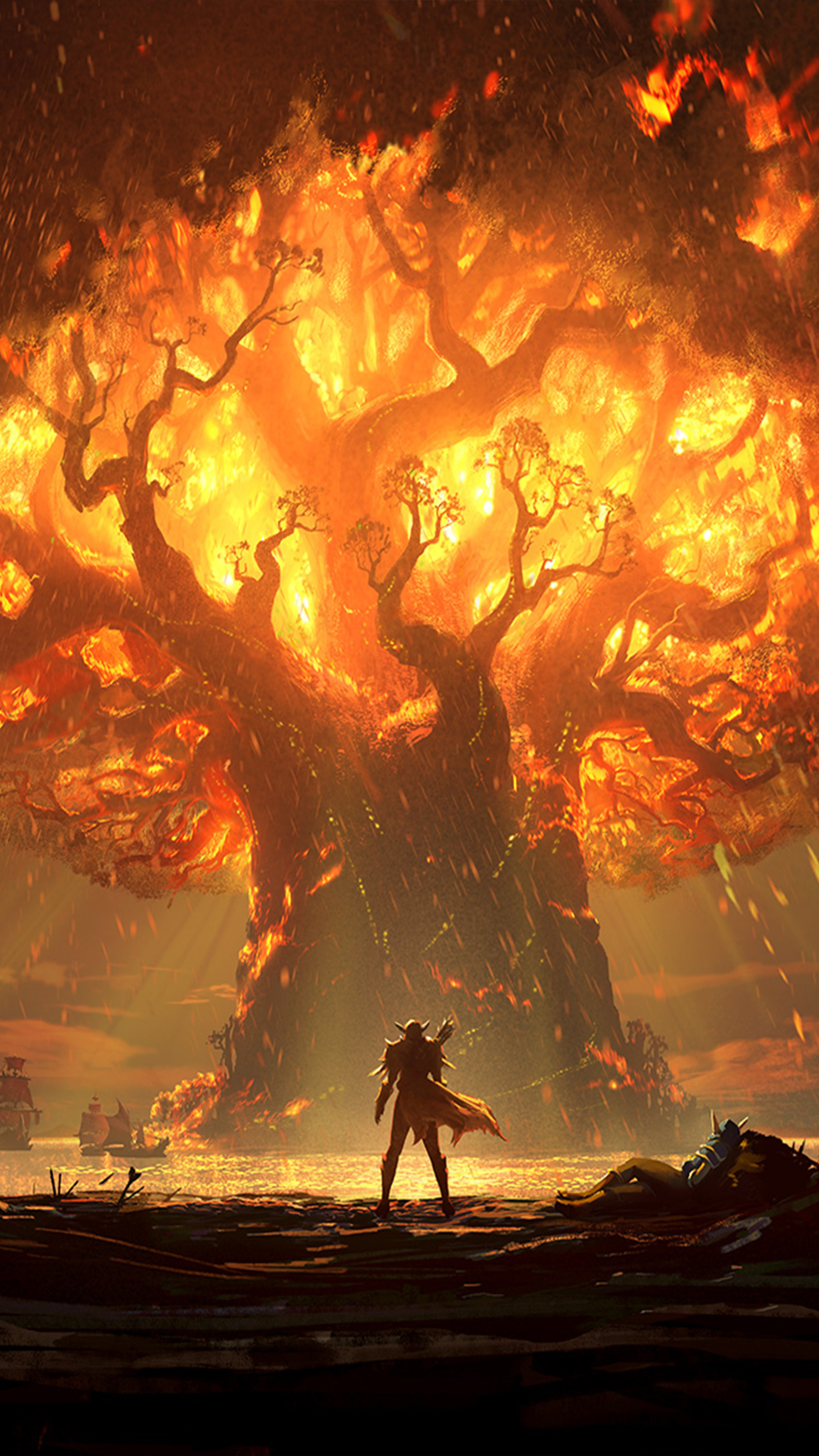 World Of Warcraft Battle For Azeroth 4k Ultra Hd Mobile Wallpaper
