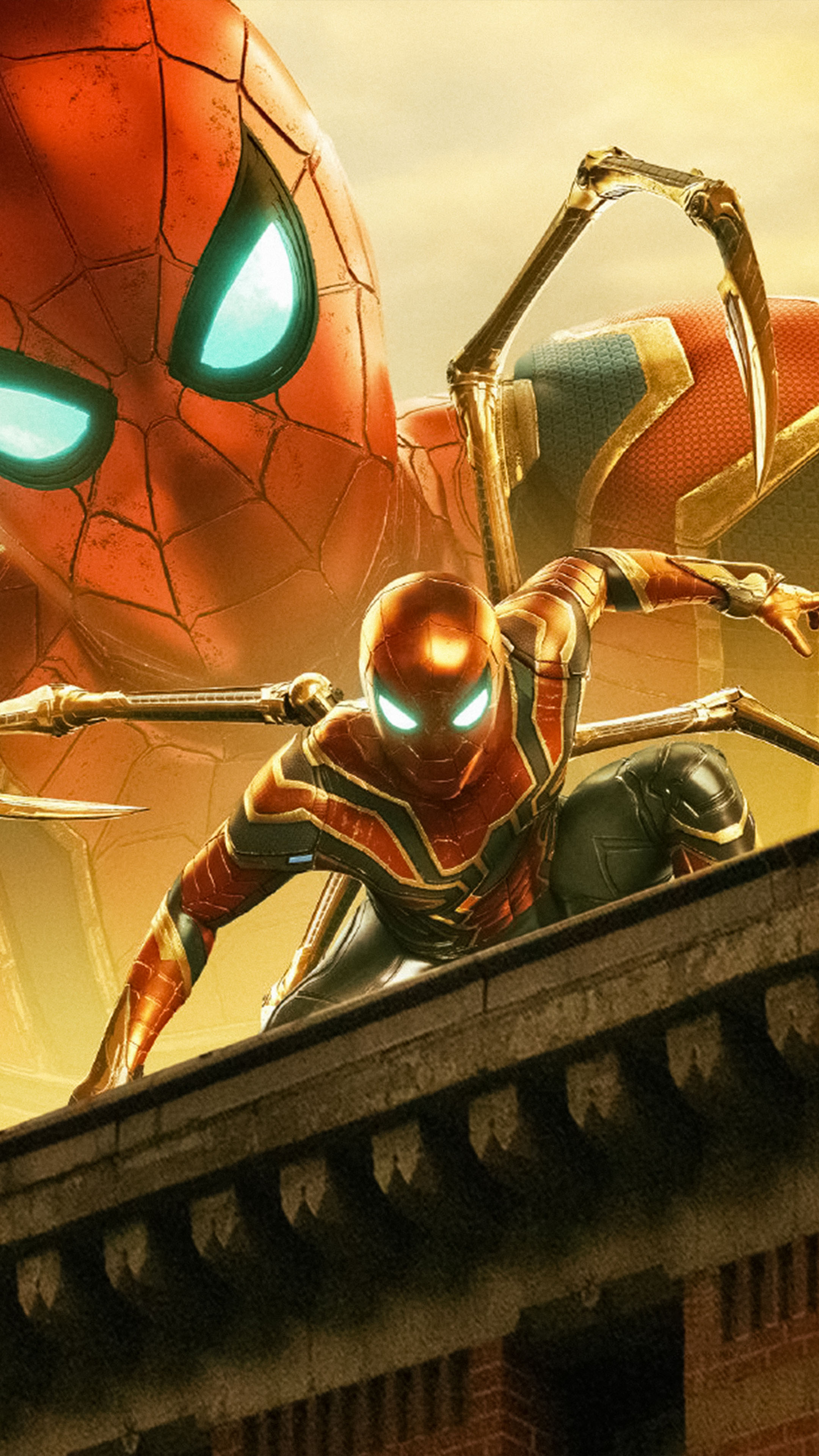 Iron Spider Spider Man Far From Home 2019 4k Ultra Hd Mobile Wallpaper