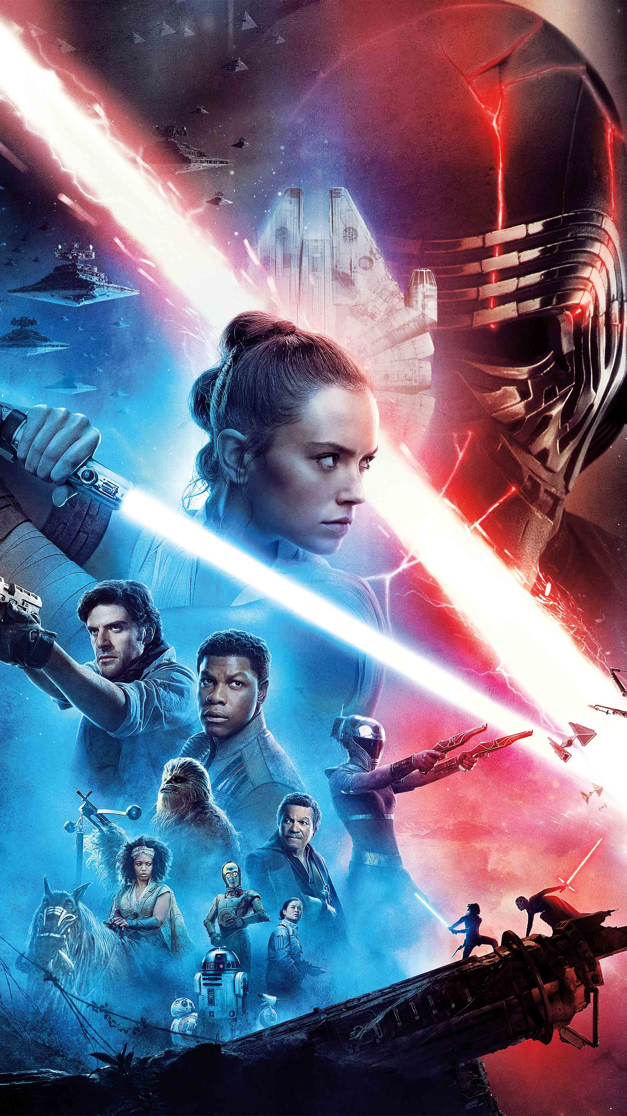 Star Wars The Rise Of Skywalker 2019 Poster Free 4k Ultra Hd