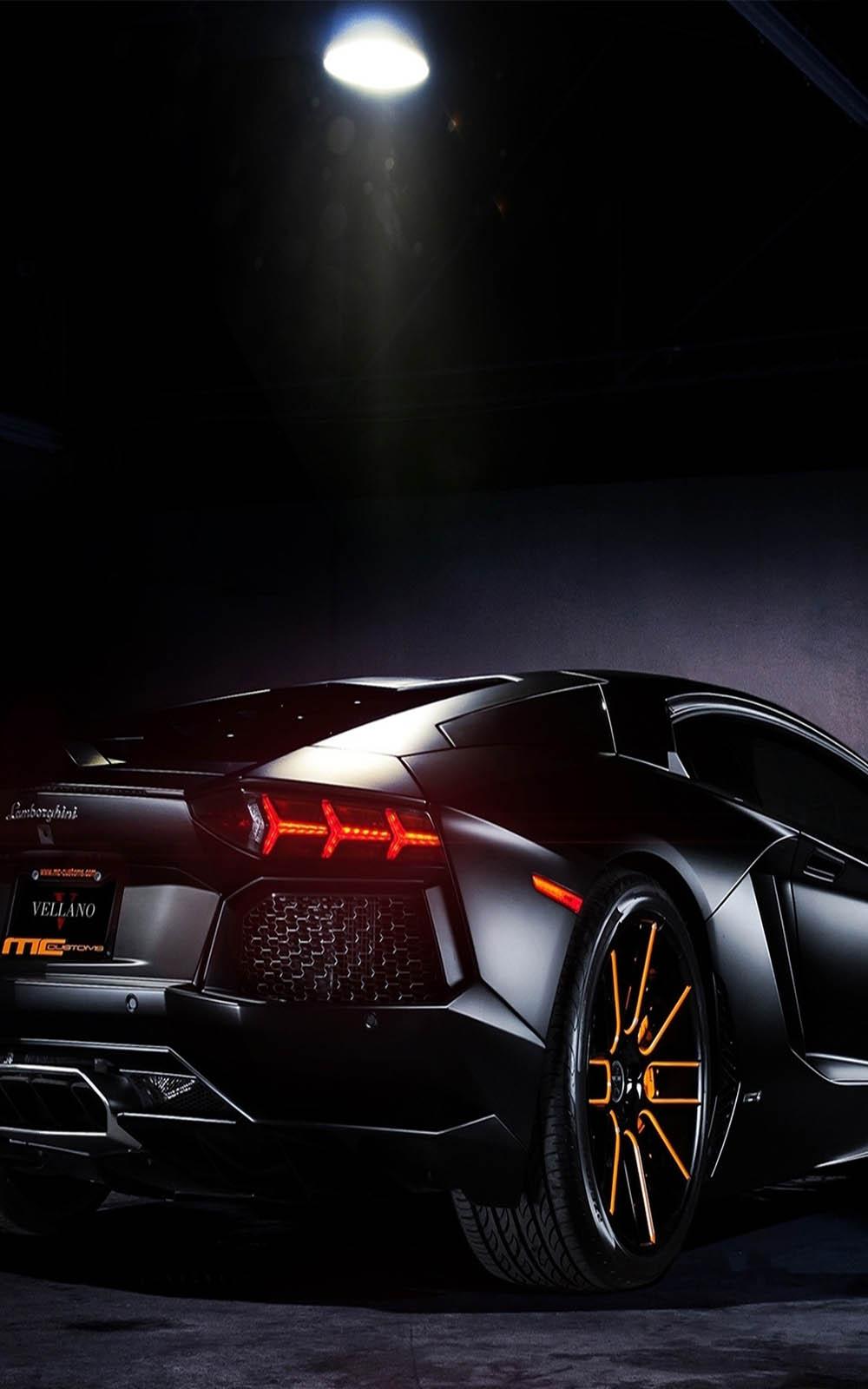 Lamborghini Black Shine Download Free Hd Mobile Wallpapers