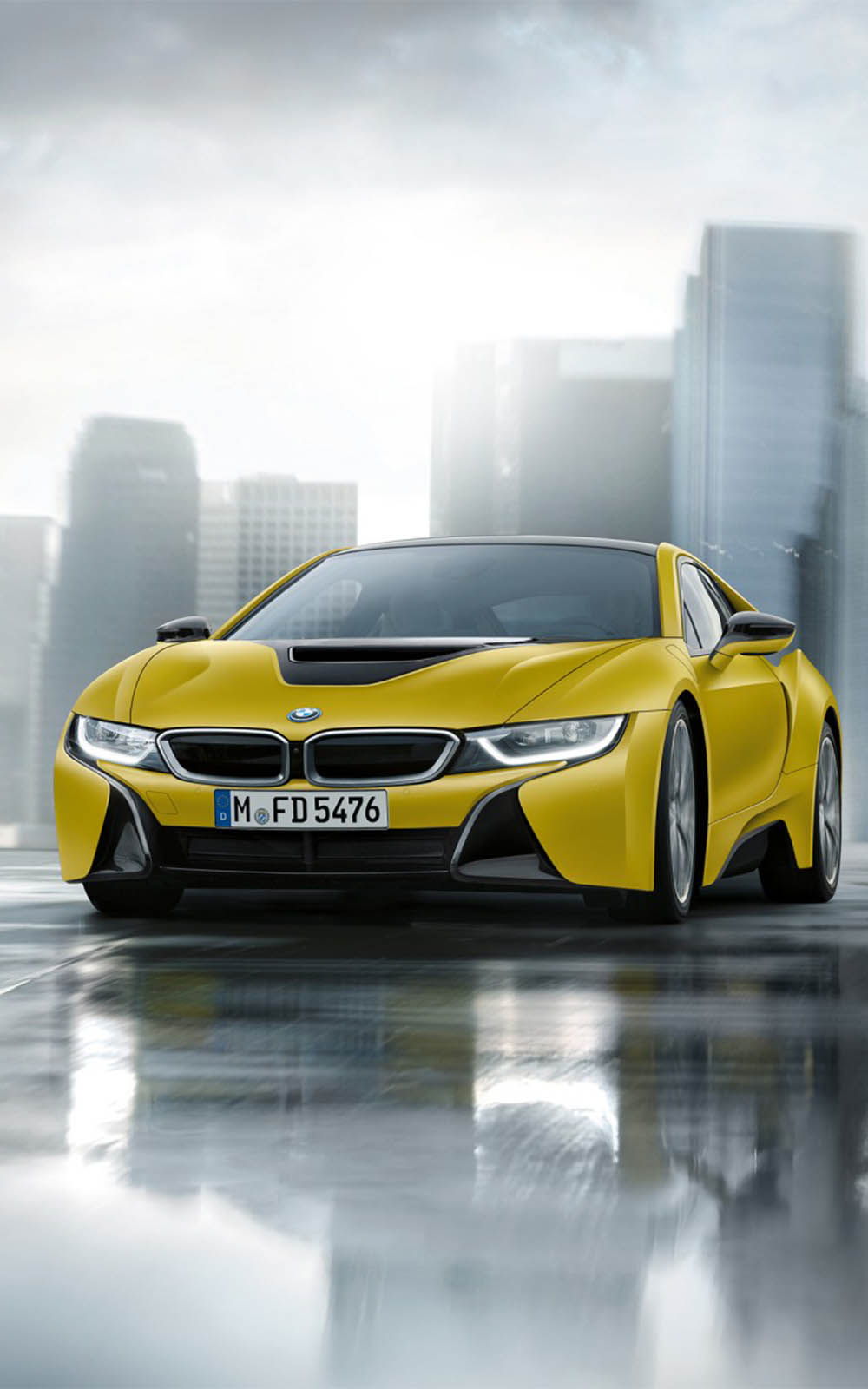 Bmw I8 Frozen Yellow Edition Download Free Hd Mobile Wallpapers