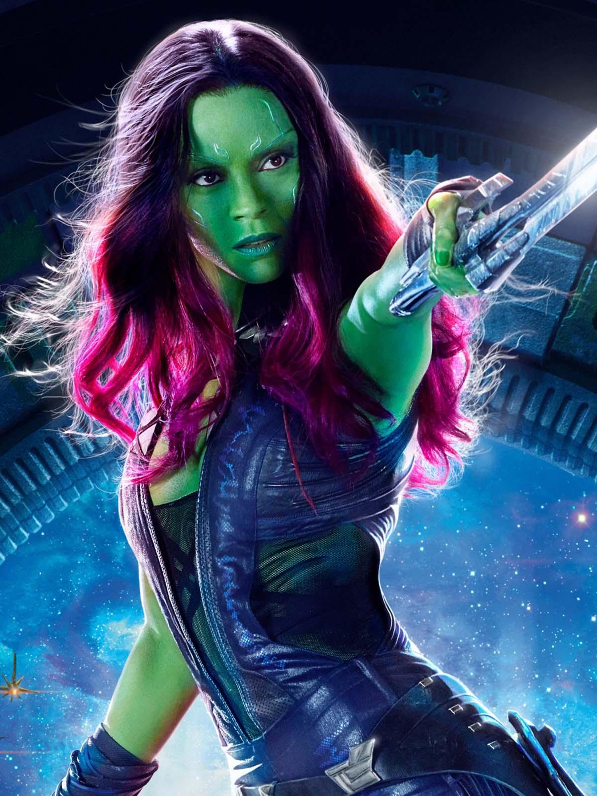 Gamora In Guardians Of The Galaxy Vol 2 Free 4k Ultra Hd Mobile