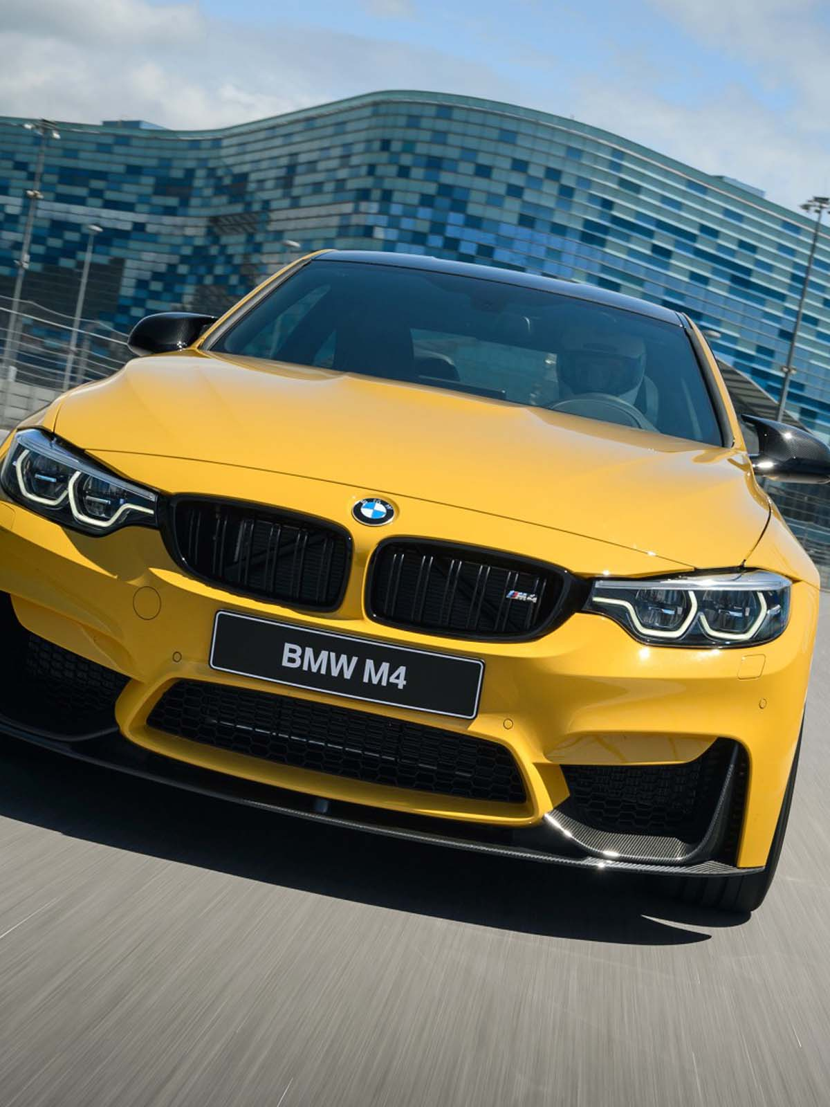 Download Bmw M4 Yellow Free Pure 4k Ultra Hd Mobile Wallpaper