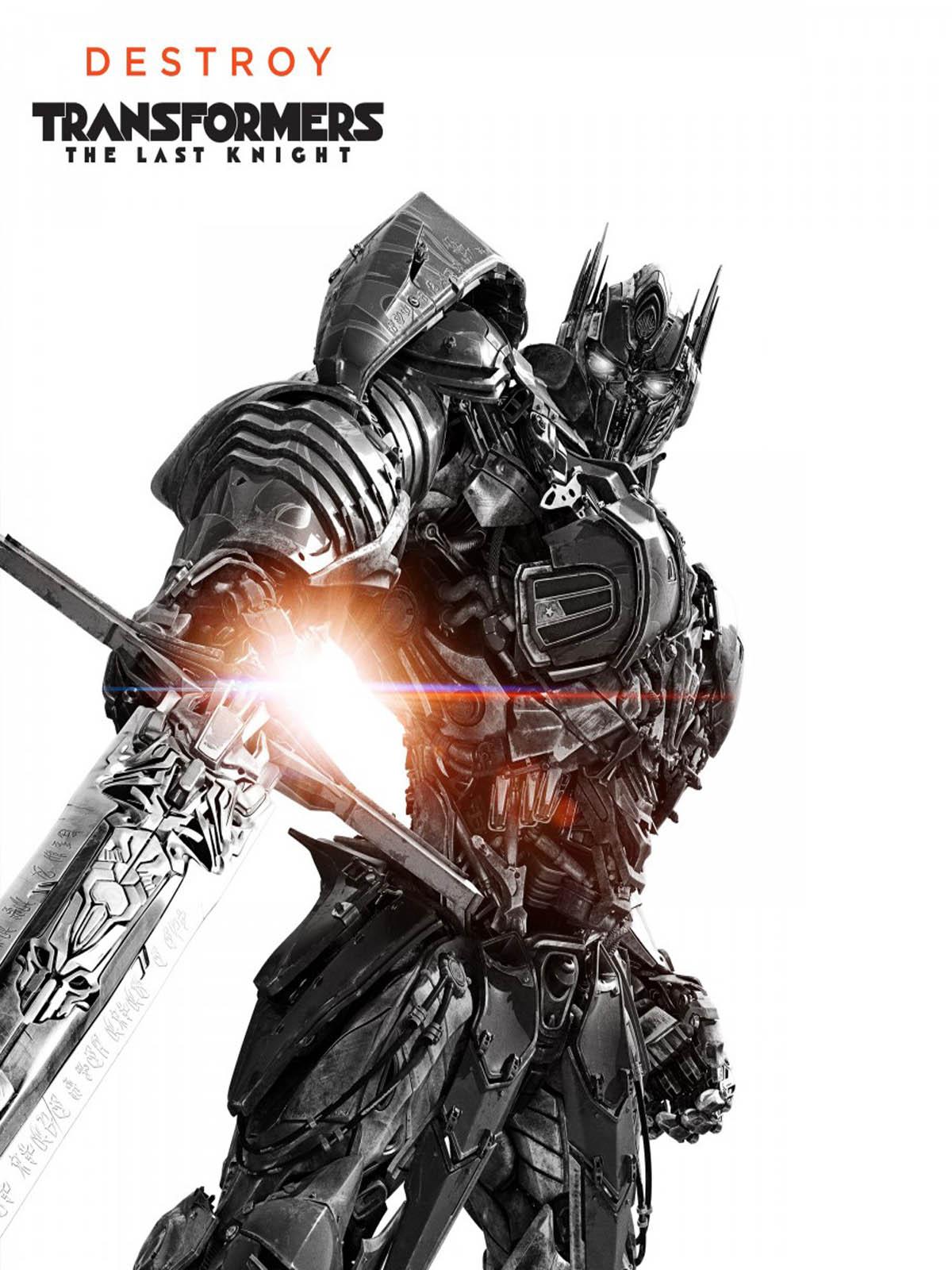Optimus Prime Transformers The Last Knight Free 4k Ultra Hd Mobile