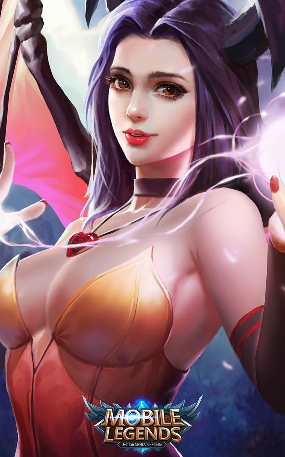 Alice Mobile Legends Hero 4k Ultra Hd Mobile Wallpaper