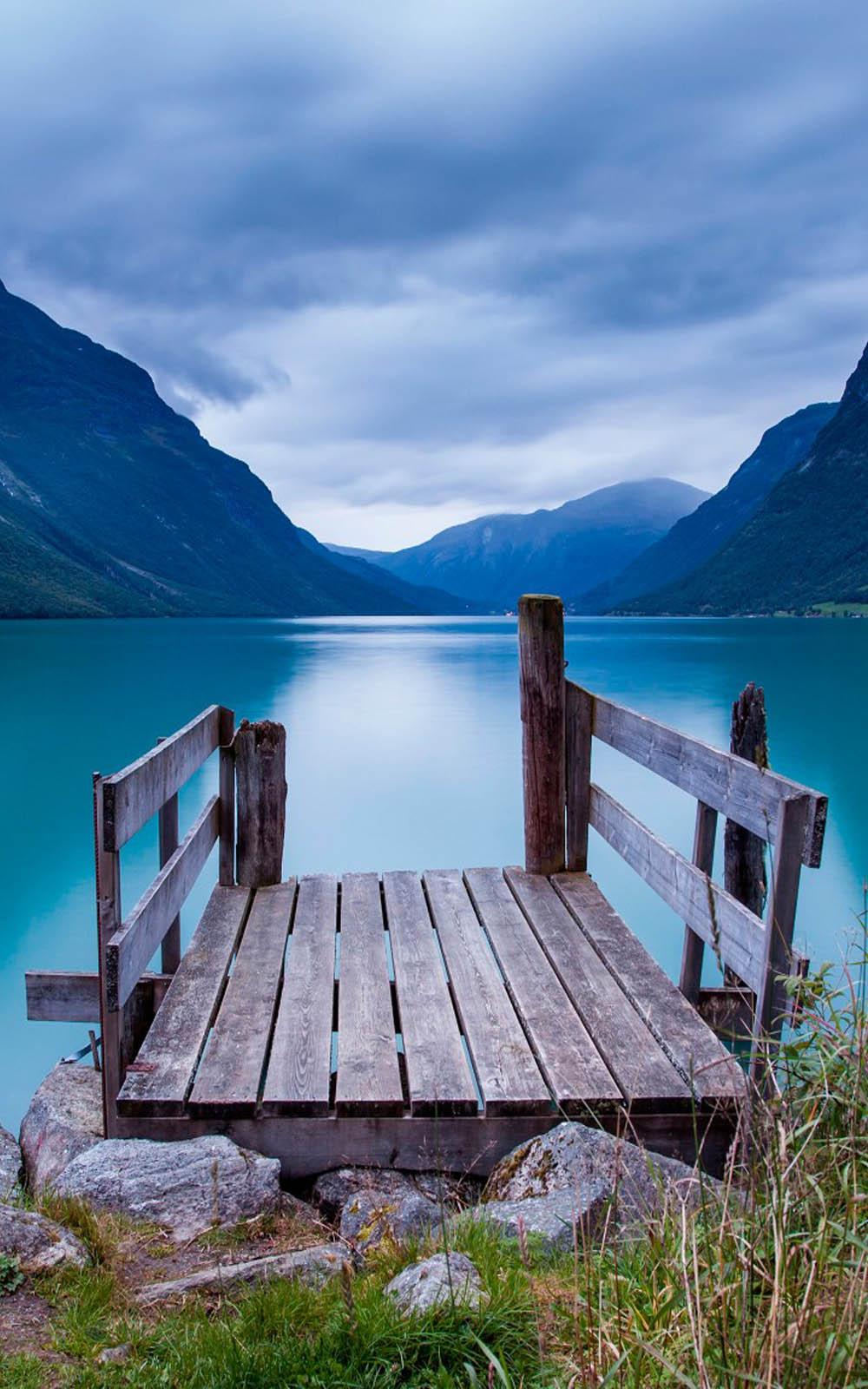 Download Beautiful Norway Lake View Free Pure 4k Ultra Hd