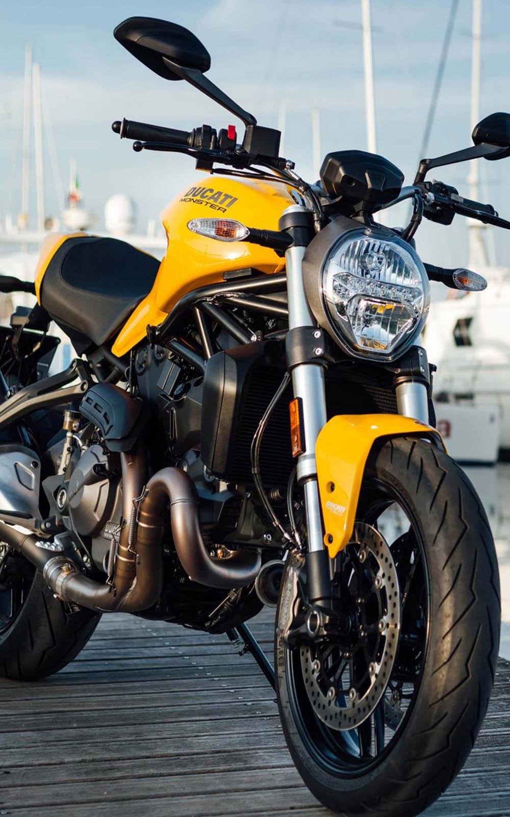 Download Ducati Monster 821 Free Pure 4K Ultra HD Mobile Wallpaper
