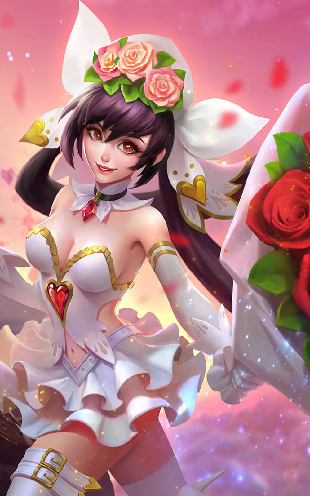 Cannon And Roses Layla Mobile Legends Free 4K Ultra HD
