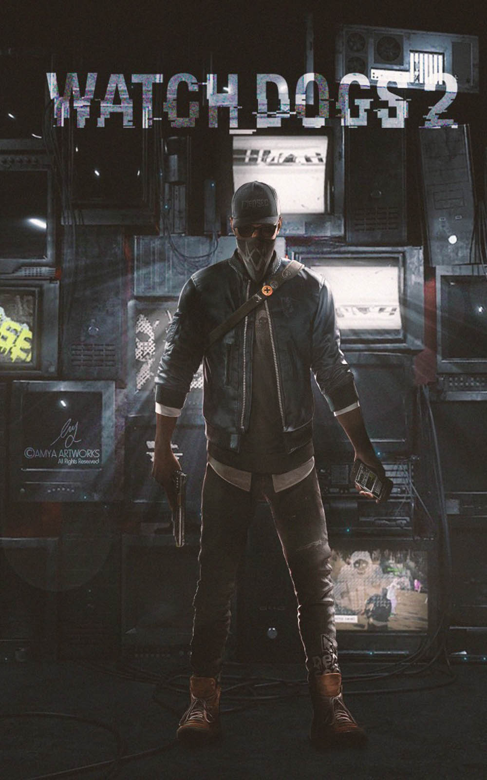 Watch Dogs 2 Game Free 4k Ultra Hd Mobile Wallpaper