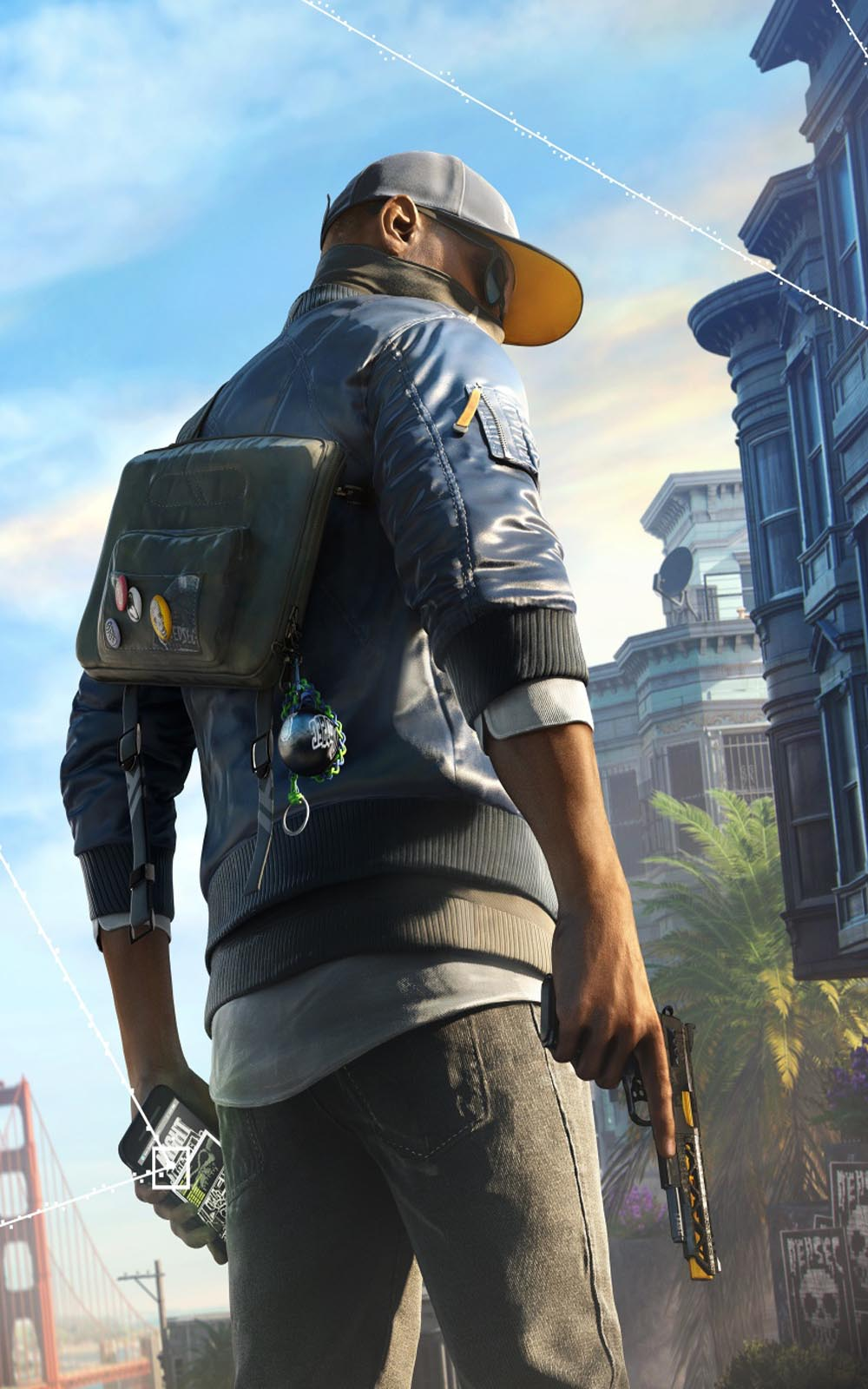 Watch Dogs 2 Marcus Download Free Hd Mobile Wallpapers