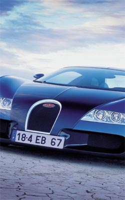 Blue Bugatti Preview