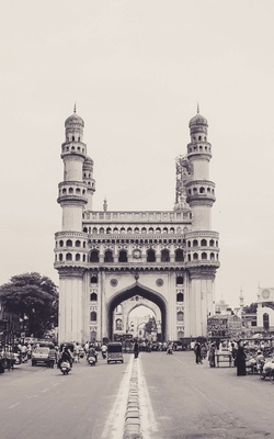 Charminar Black & White Preview