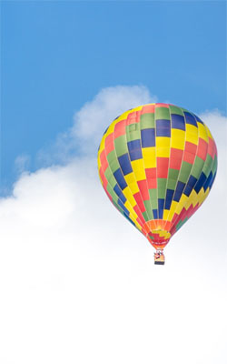 Colorful Hot Air Balloon Preview