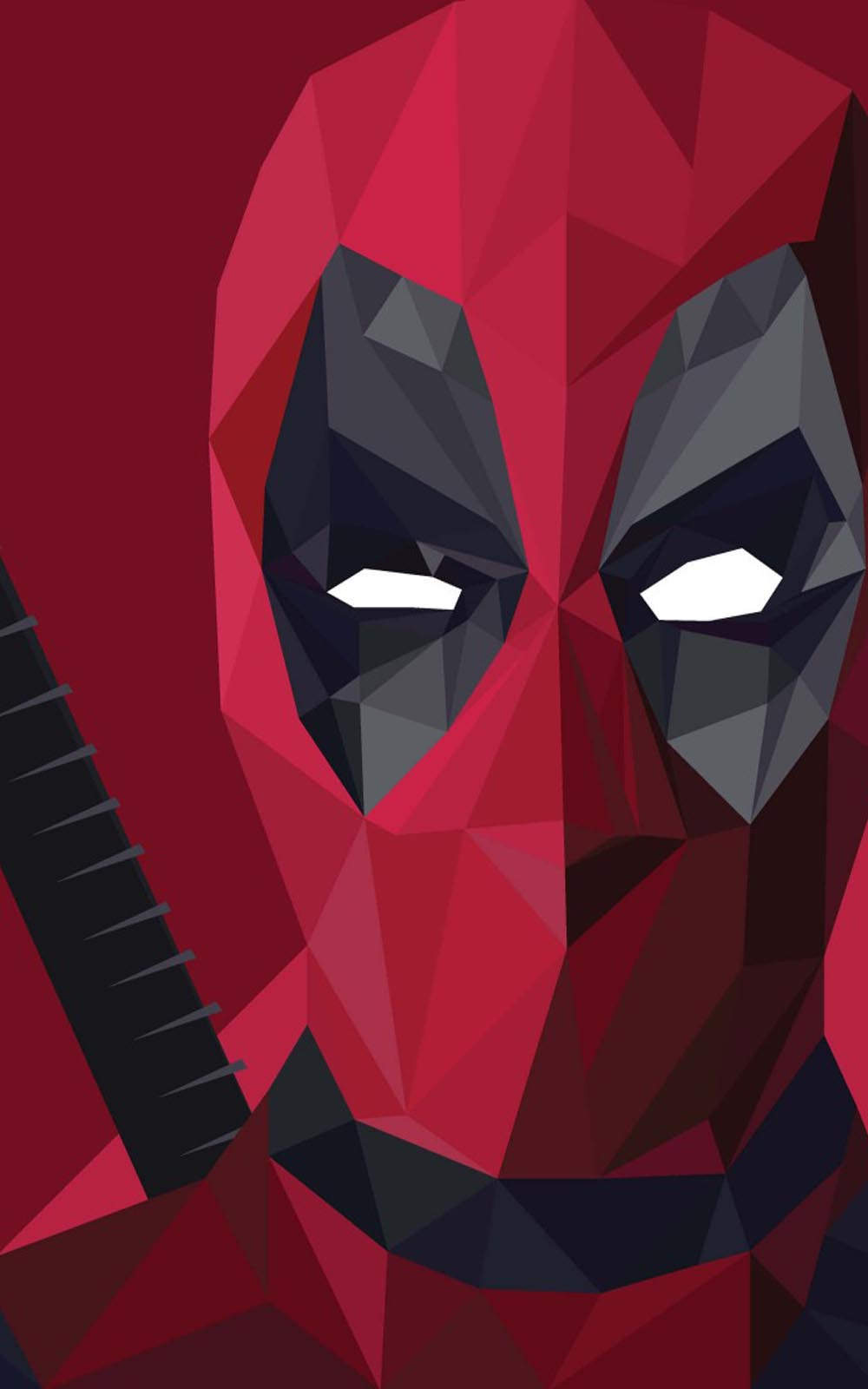 Download Deadpool Prisma Red Free Pure 4K Ultra HD Mobile ...