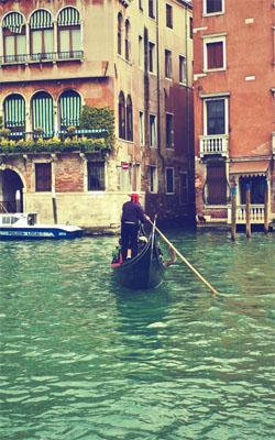 Gondola In Venice Preview