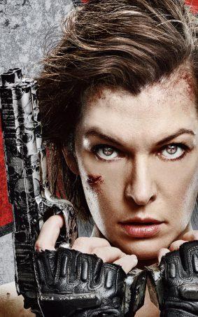 Milla Jovovich From Resident Evil 6