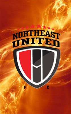 NorthEast United FC Logo Flame Preview