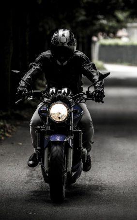 Street Dark Bike Rider