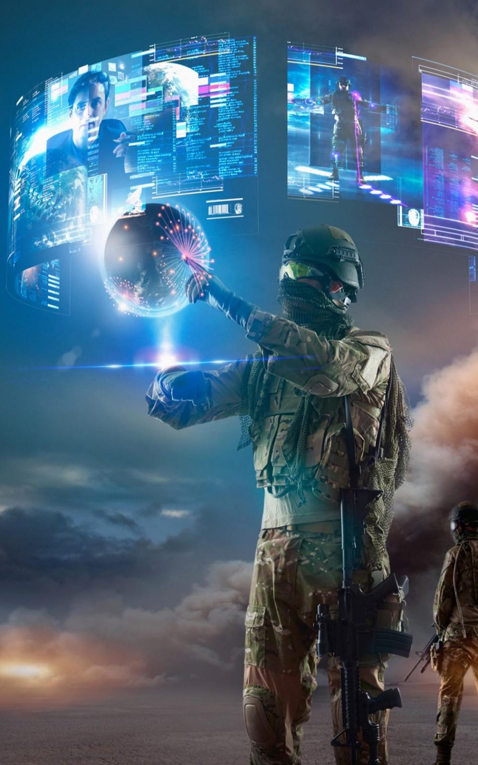 Virtual Reality of Future Military
