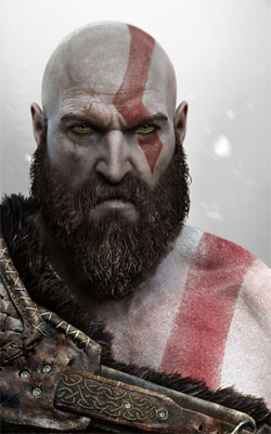 God of War Kratos 3 Mobile Wallpaper Preview