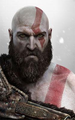 God of War Kratos 3 Mobile Wallpaper Preview