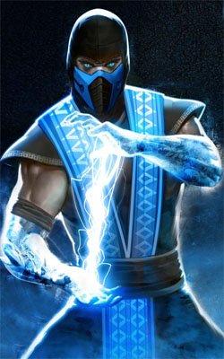Sub Zero Mortal Kombat Mobile Wallpaper Preview