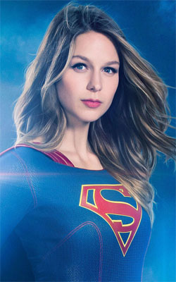 Supergirl Season 2 Mobile Wallpaper Preview