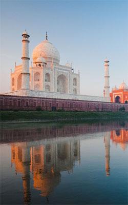 Taj Mahal Mobile Wallpaper Preview