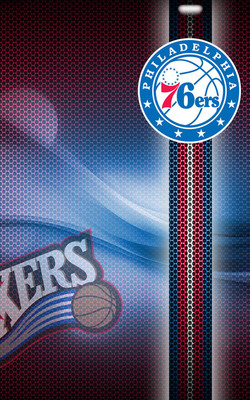 The Philadelphia 76ers Mobile Wallpaper Preview