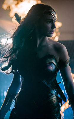 Wonder Woman Justice League Mobile Wallpaper Preview