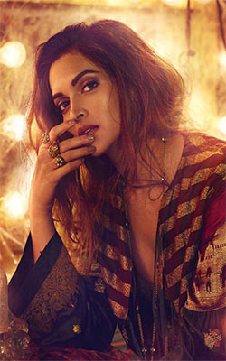 Deepika Padukone Vogue Photoshoot Mobile Wallpaper Preview