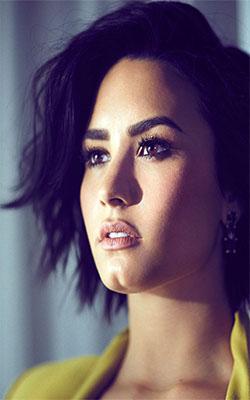 Demi Lovato Mobile Wallpaper Preview