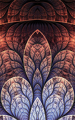 Fractals Designs Mobile Wallpaper Preview