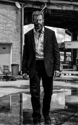 Hugh Jackman in Logan Mobile Wallpaper Preview