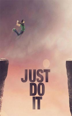 Just Do It Mobile Wallpaper Preview