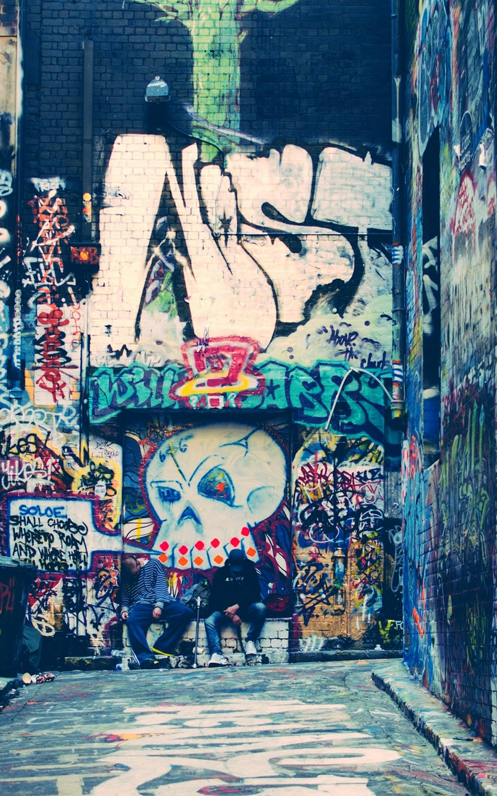 graffiti wallpapers for mobile - photo #26