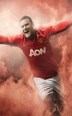 Wayne Rooney Mobile Wallpaper Preview