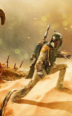 Boba Fett - Return of The Jedi Mobile Wallpaper Preview