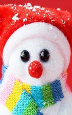 Cutest Snowman Mobile Wallpaper Preview